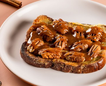 French toast pecan pie